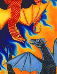 Dragon Play by HappyRaincloud