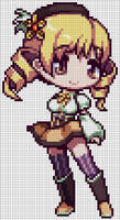 PMMM - Mami Tomoe Pattern by MaddogsCreations