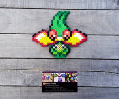 Chibi Flygon - Pokemon Perler Bead Sprite by MaddogsCreations