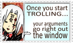 You be trollin'? :U by ChikitaWolf