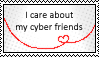 ':_Cyber friendship_:' by ChikitaWolf