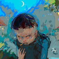 evil boy by BrumaGris