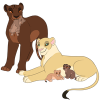 New lioness mothers auction closed by wolfgirllani