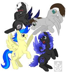 Friendship by StormBlaze-Pegasus