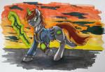 Wasteland Walker by StormBlaze-Pegasus