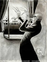 The Death of Count Orlok by jmdesantis