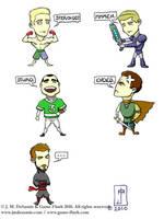 Game-Flush.com Avatars by jmdesantis