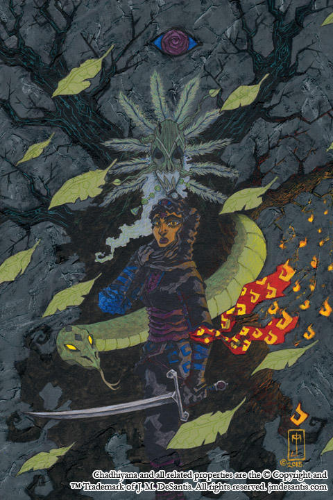 Chadhiyana #1 cover by jmdesantis