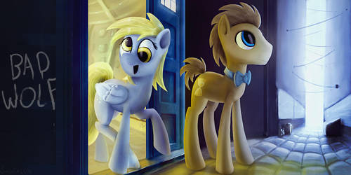 Doctor Whooves Plus 1 by SubjectNumber2394