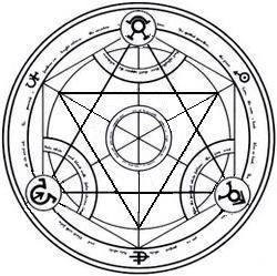 human transmutation circle 1 by montyhatesyou