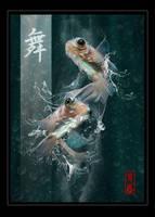 Koi Splash by shawnkent