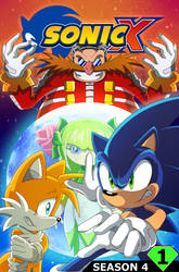 Sonic X Season 4 Issue 1 Cover by SonicTheEdgehog