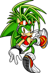 Manic the Hedgehog Sonic Channel by SonicTheEdgehog