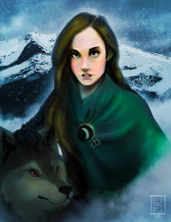 Queen of Wolves by TotalCarnivore