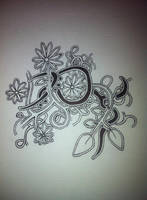 flower doodle by spunkypants