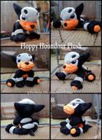 Floppy Houndour Plushie by xBrittneyJane