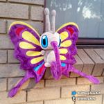 Shiny Beautifly Re-make! by xBrittneyJane