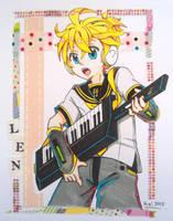 [AT] Len-kun V4X by KagamochiLen