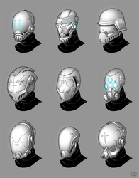Helmet Concepts by LaNiMaL