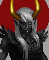 Ink Demon by Vrihedd