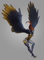 Harpy by Vrihedd
