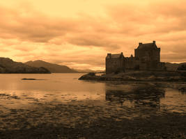 Scotland - Castle by Asarhia-March