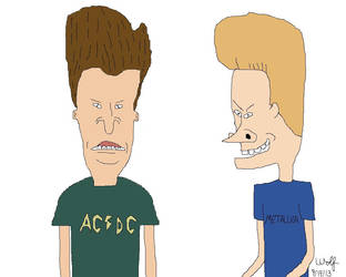 Beavis And Butthead by SilverWolf738