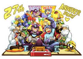 Happy 27th Anniversary! by whitmoon