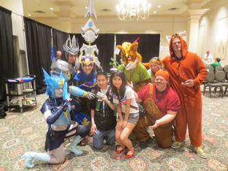 The awesome den of Awesome at Anime North 2014 by guardiansandi