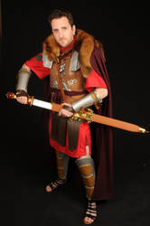 Dave the Roman soldier by guardiansandi