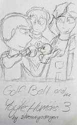 WIPpy - Golf Ball and the Yoyel Humans 3 Fanart by ChikenDoodleSup