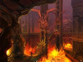 Evil Lord Lair by carloscara