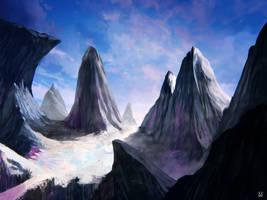 frozen tundra by carloscara