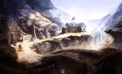 Dungeons and Dragons: environment test by carloscara