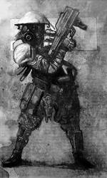 Apocalypse world: Gunlugger by carloscara