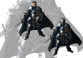 Gemstone Knights: Dareth by carloscara