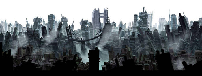 Ruins by carloscara