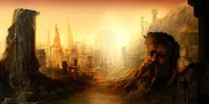 City of Brass by carloscara