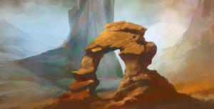 Stone arch by carloscara