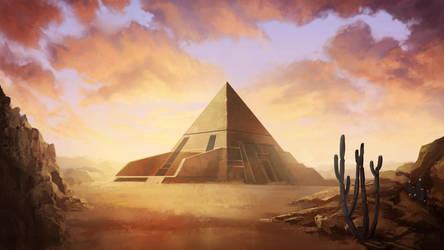 Pyramid by carloscara