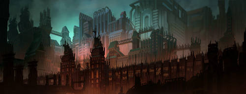 City of Dis by carloscara