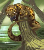 WIP Sam the Swamp Monster by ciggypiggy