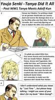 Youjo Senki - Tanya Did It All - Post WW1 Hitler by jmantime-is-Here