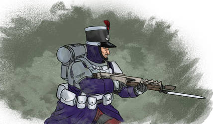 Iron Rooster Guardsman quickie by jailgurdnegative
