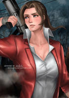 Resident Evil - Claire Redfield by zenkanjia