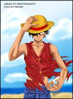 One Piece - Luffy by sekaini