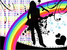 Rainbow song by Ritokas