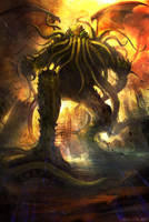 Cthulhu by Darkcloud013