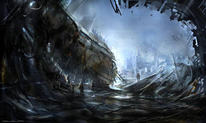Wrecked by Darkcloud013