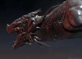 Dragon head by Darkcloud013